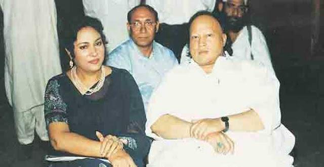 Nusarat Fateh Ali khan wife