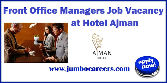 Front Office Managers Job
