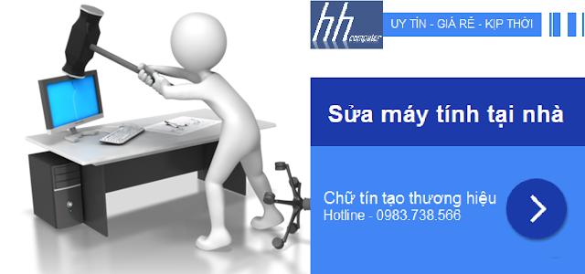 Sửa máy tính tại nhà Quận Ba Đình - 0983.738.566