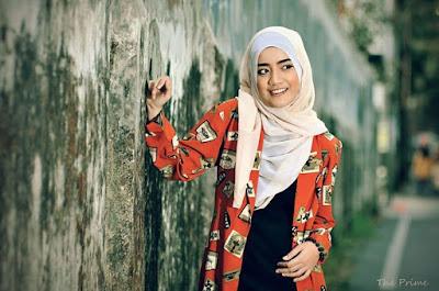 Tampilan Hijab Cassual Terbaru