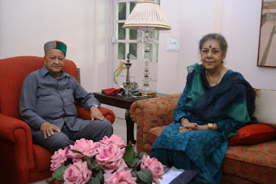 Ambika Soni, AICC, All India Congress Committee, Himachal Pradesh, Virbhadra Singh, HPCC, CBI