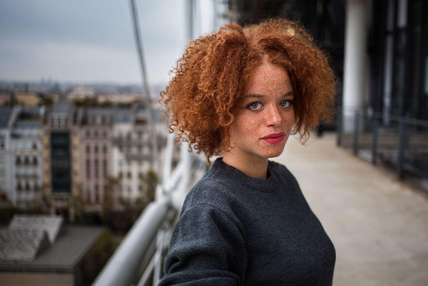 This Photographer Took Pictures Of Women From All Over The World. You'll Be Amazed By Their Beauty And Uniqueness! - Paris, France