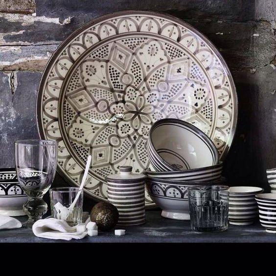 souvenirs, souks, marrakech, pottery, kitchen, beldi