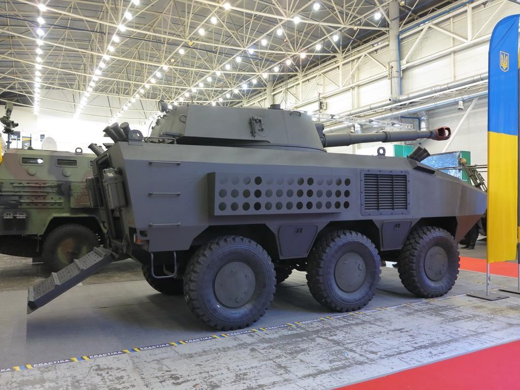 122-мм САУ «Отаман»