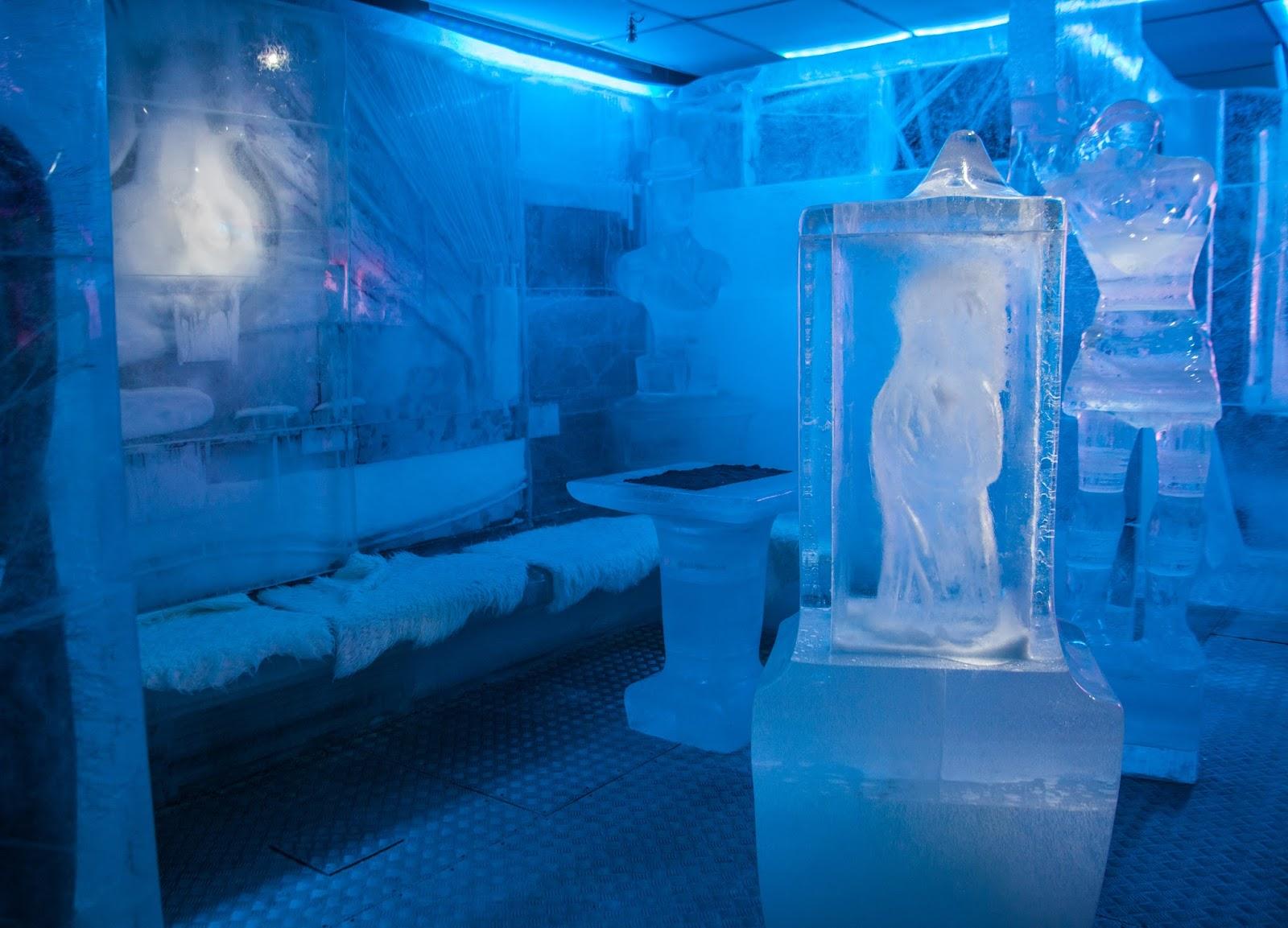 Magic in ice