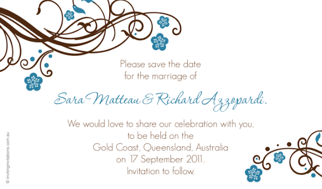 Save The Date Wedding Invitations Online