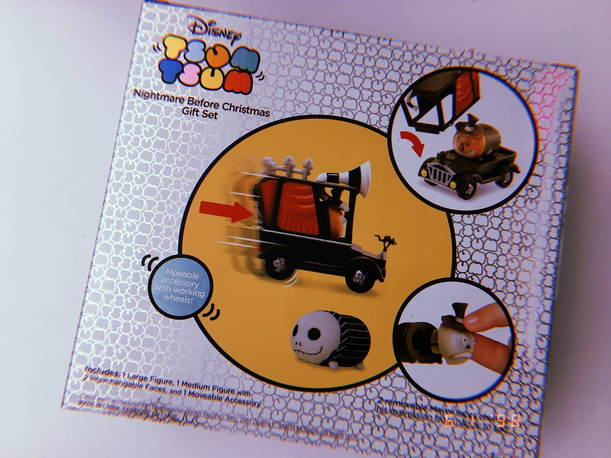 Collecting Toyz Nightmare Before Christmas Tsum Box Set Tony Hawk Circuit Boards By Hexbug Power Axle Innovation First A New Feature To This Is That The Face For Mayor Interchangeable So You Can Go From Happy Sad Etc