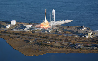 Antares Rocket Launch