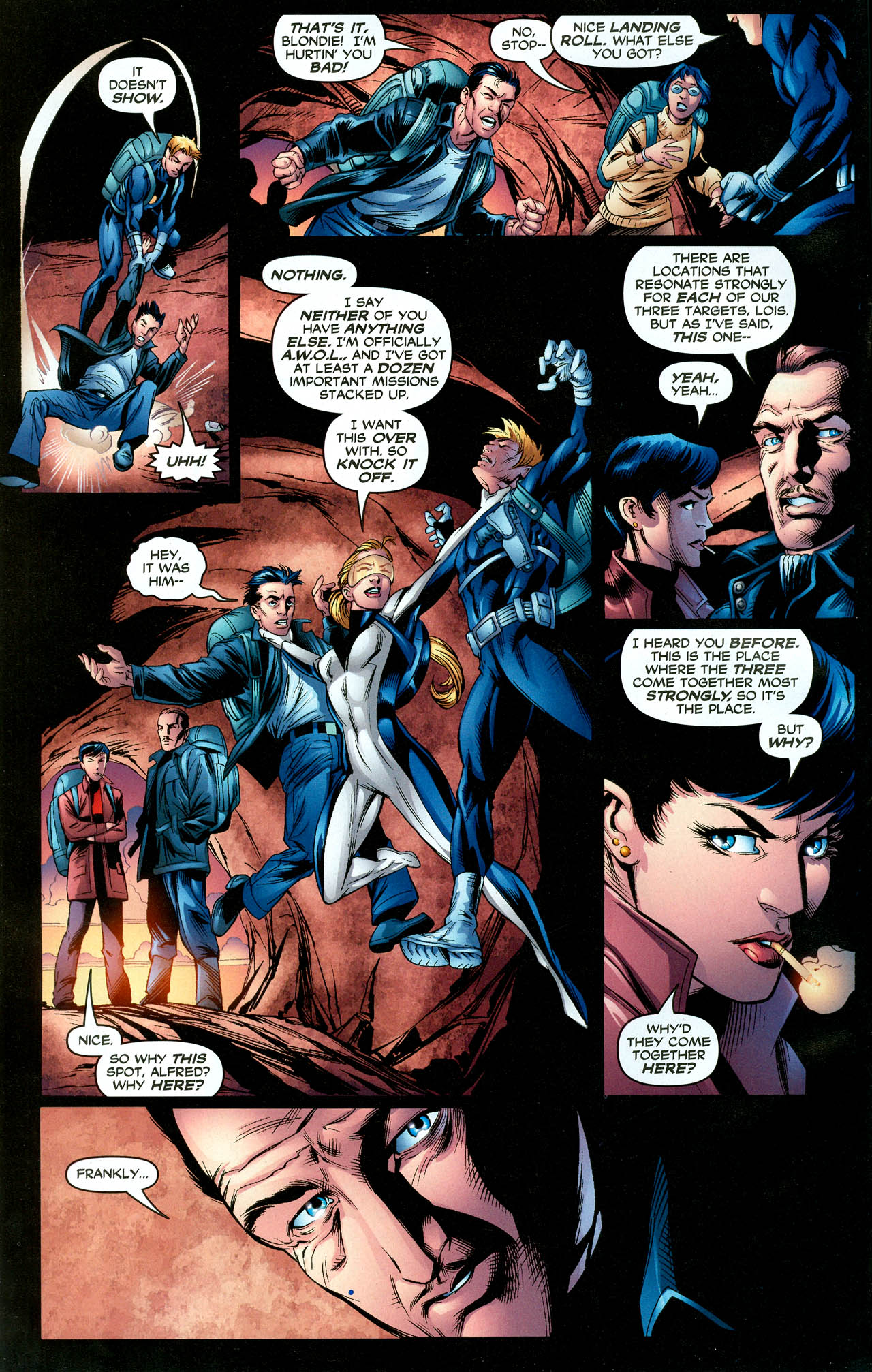 Read online Trinity (2008) comic -  Issue #28 - 4