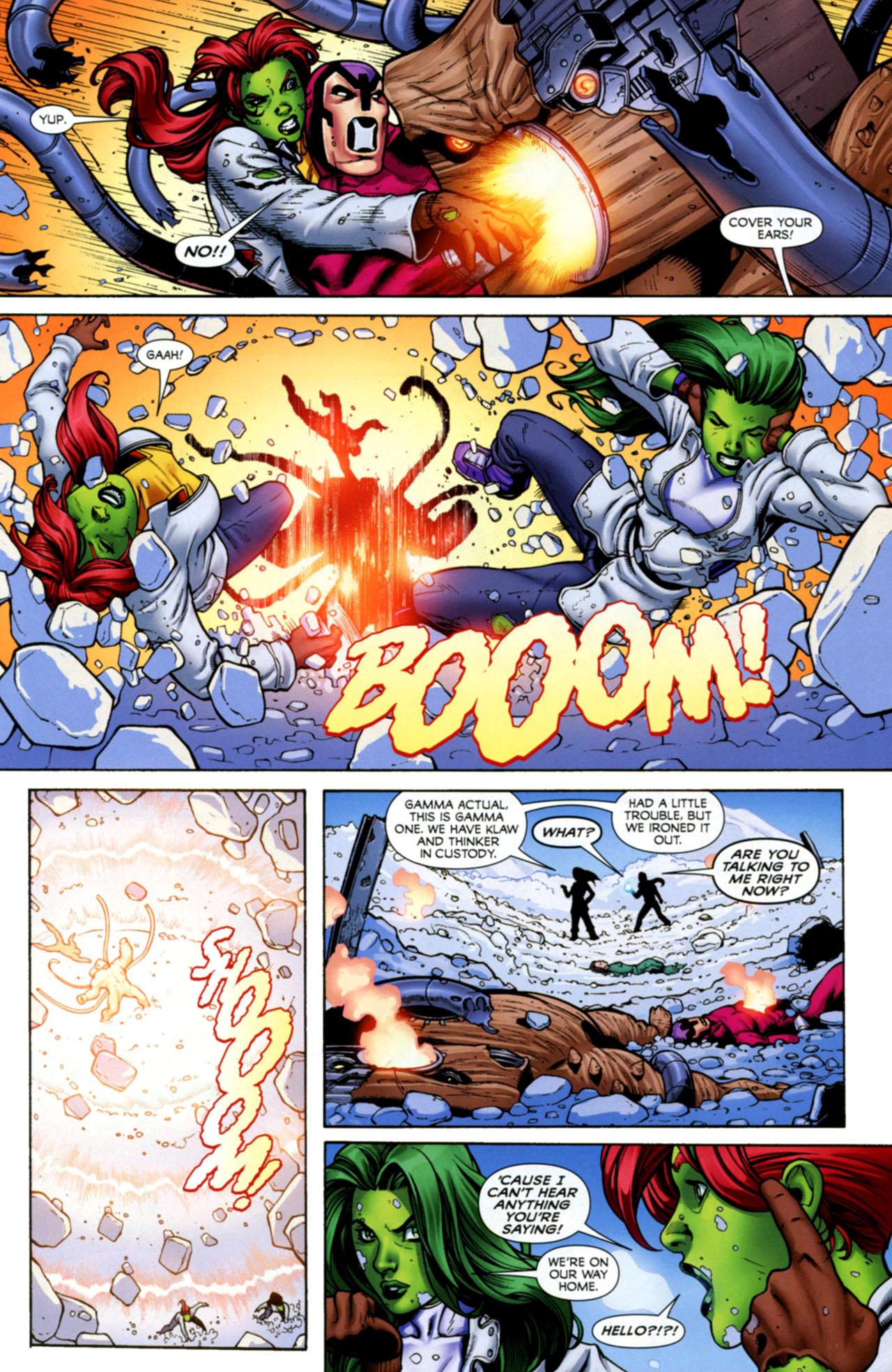 Read online She-Hulks comic -  Issue #4 - 6
