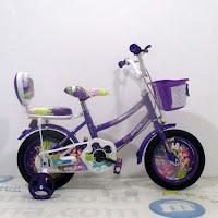 12 ogan ctb sepeda anak purple
