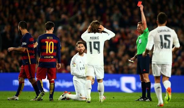 Real Madrid, Sergio Ramos es sancionado con un partido