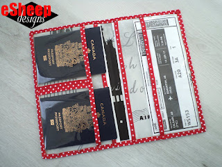 Travel Document Folder by eSheep Designs