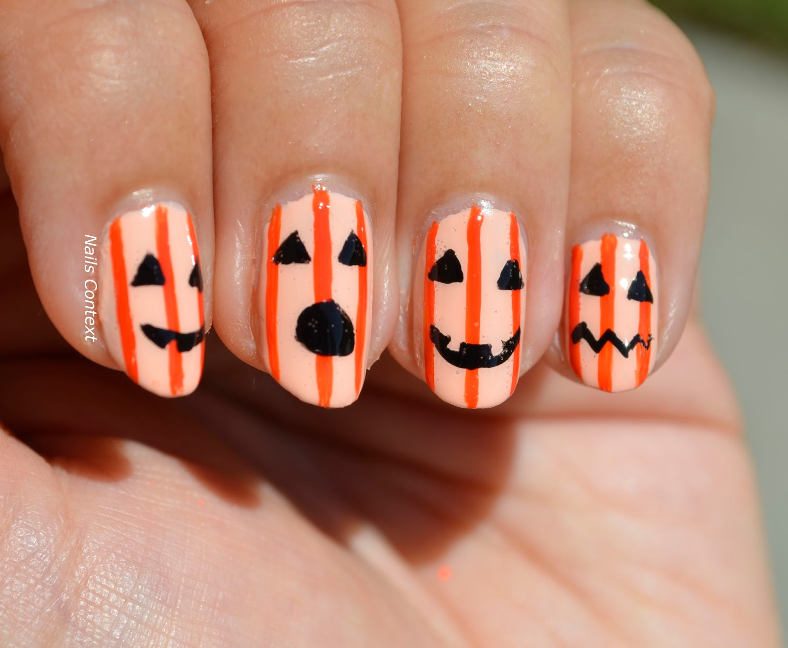 Nails Context: Jack-O-Lanterns