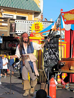 Captain Jack Street Performer Pier 39 San Francisco California