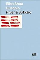 Élisa Shua Dusapin Hiver à Sokcho Zoé folio
