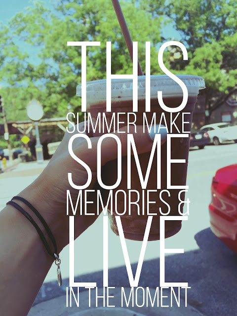 carly blogs here; cbh; summer quotes; quotes about summer; frozen coffee