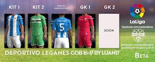 Deportivo Leganes Joma [2016-2017] Pes 2013