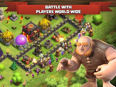 Clash of Clans Mod Apk v10.322.8 (Unlimited Gems/Gold/Elixir)