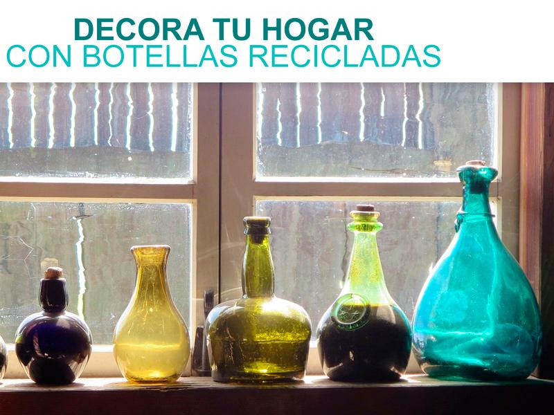 C mo decorar reciclando en casa casas ecol gicas - Decorar reciclando objetos ...