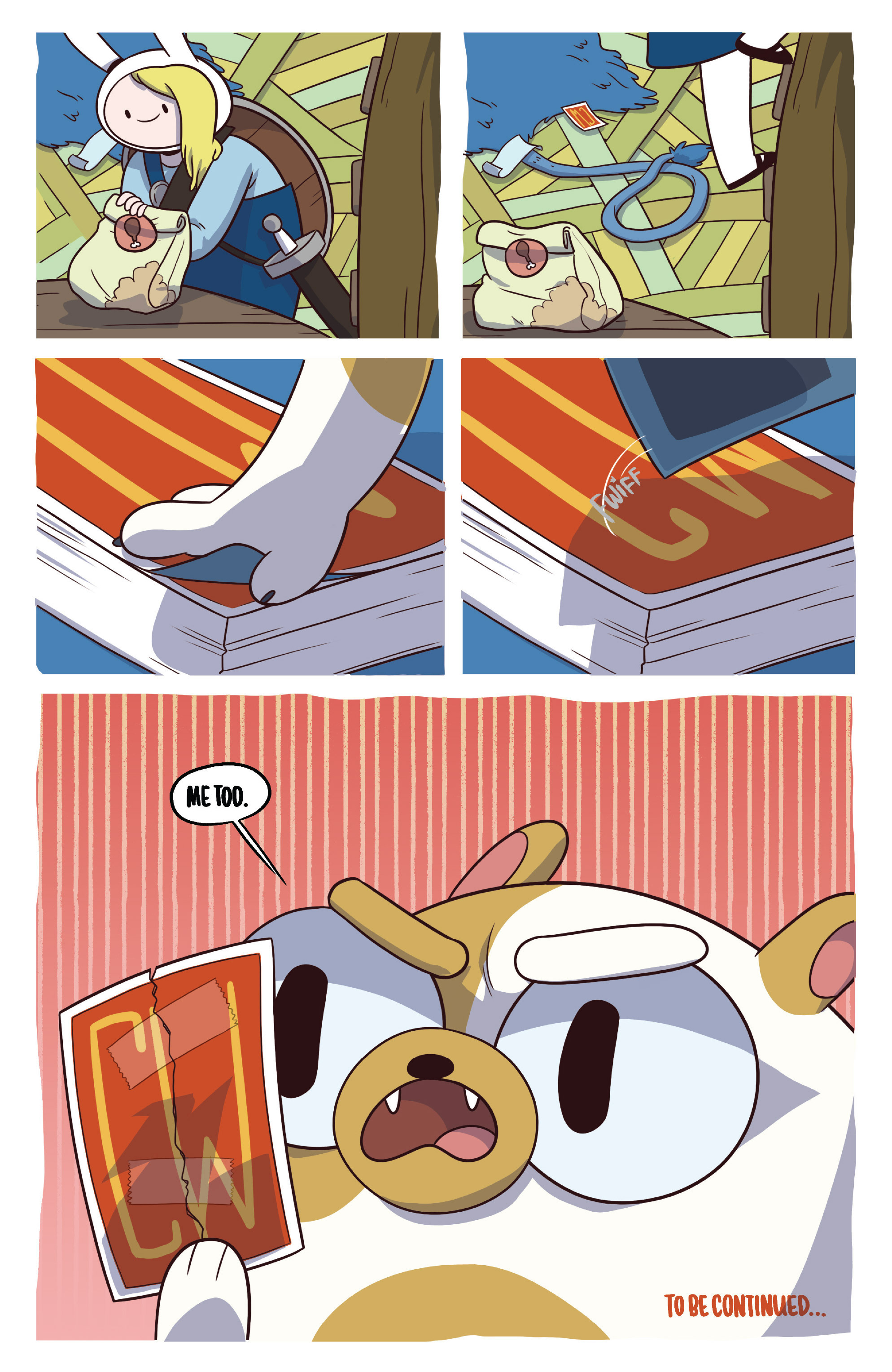 Read online Adventure Time Fionna and Cake Card Wars comic -  Issue #3 - 24