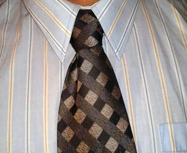 Kaklaraiščio mazgas Nr.5
