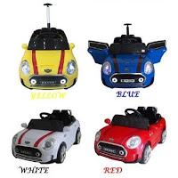 Mobil Mainan Aki Pliko PK8518N Mini