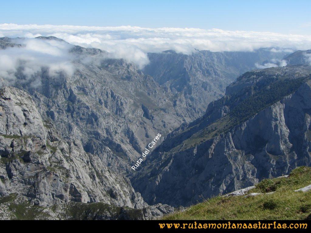 Ruta Ercina, Jultayu, Cuvicente: Ruta del Cares desde el Jultayu