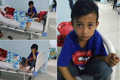 Anak 9 Tahun Antar Sendiri Ibunya Ke Rumah Sakit