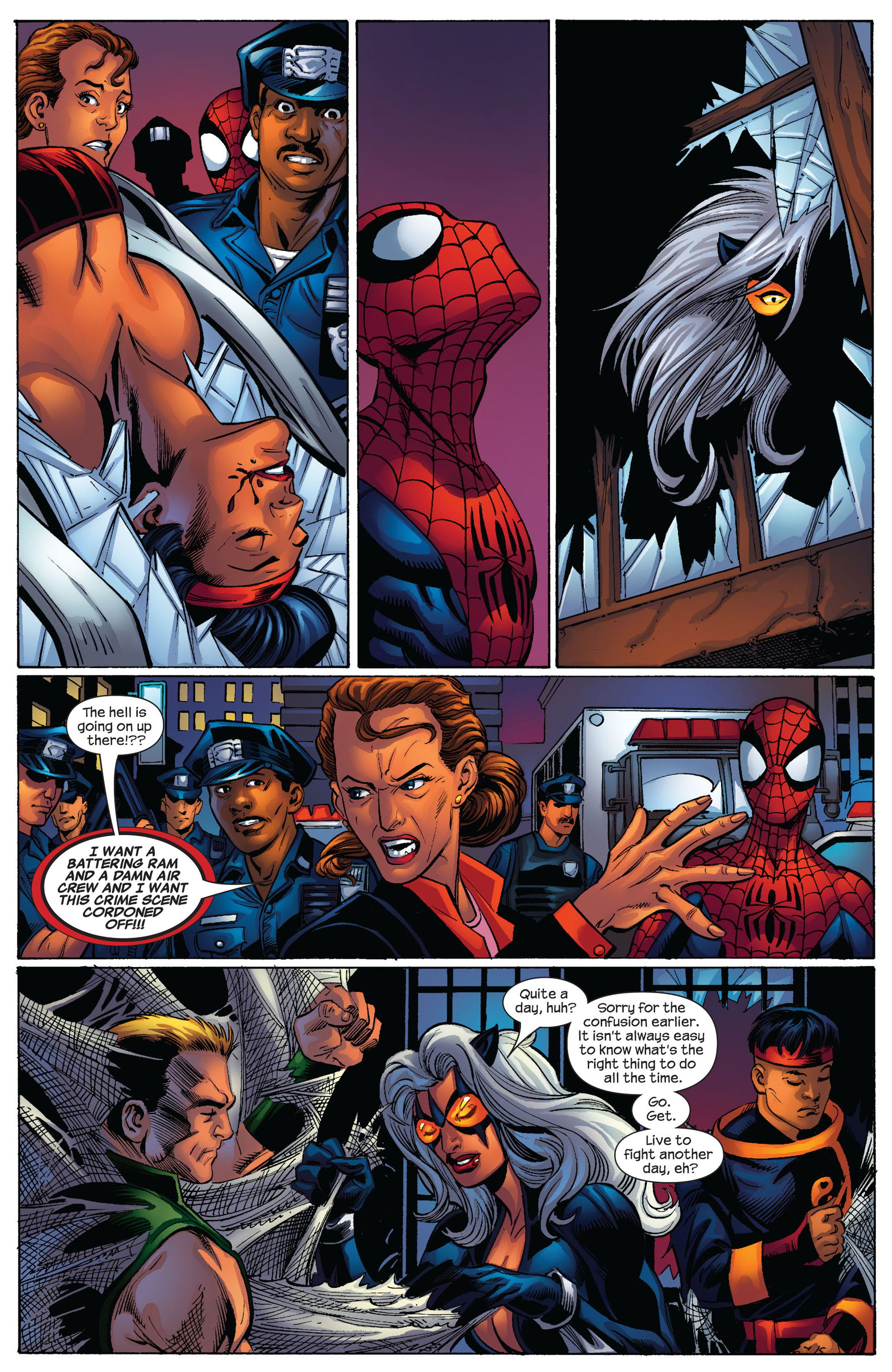 Read online Ultimate Spider-Man (2000) comic -  Issue #85 - 12