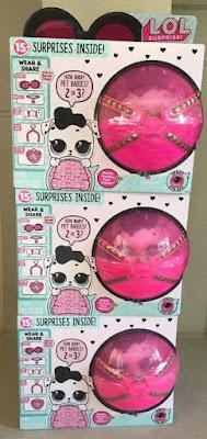 Упаковка с новыми шарами ЛОЛ Сюрприз в коробках фирмы MGA оригинал