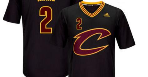 the best attitude 906b9 6d1d1 nba fans shop: Men's Cleveland Cavaliers Kyrie Irving Black ...