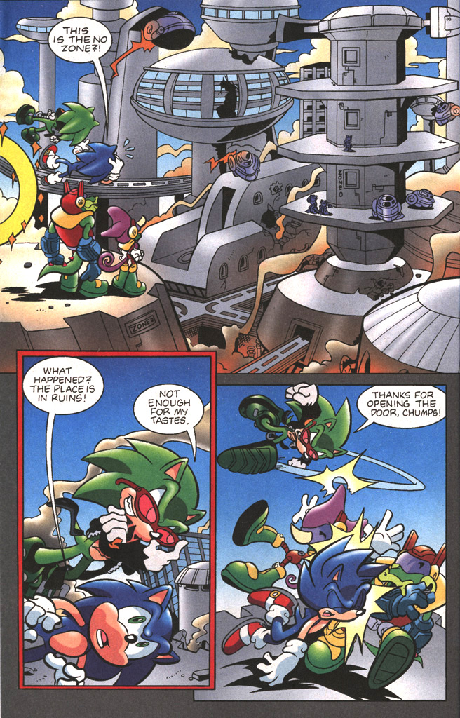 Read online Sonic The Hedgehog comic -  Issue #197 - 12