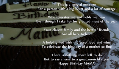 Beautiful Happy Birthday Poems for Mom