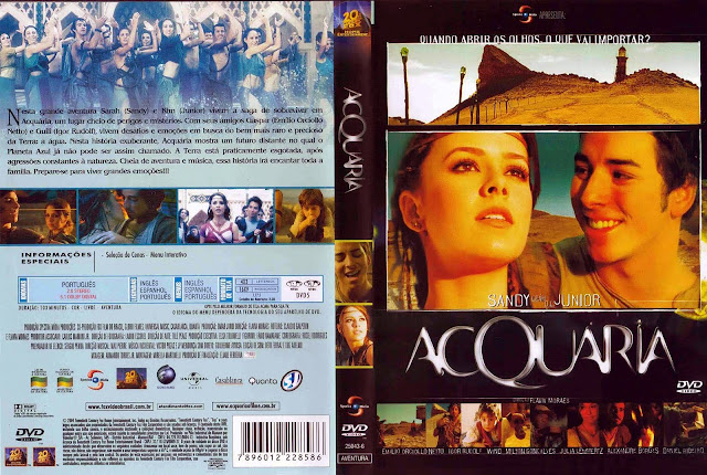 Capa DVD Acquaria