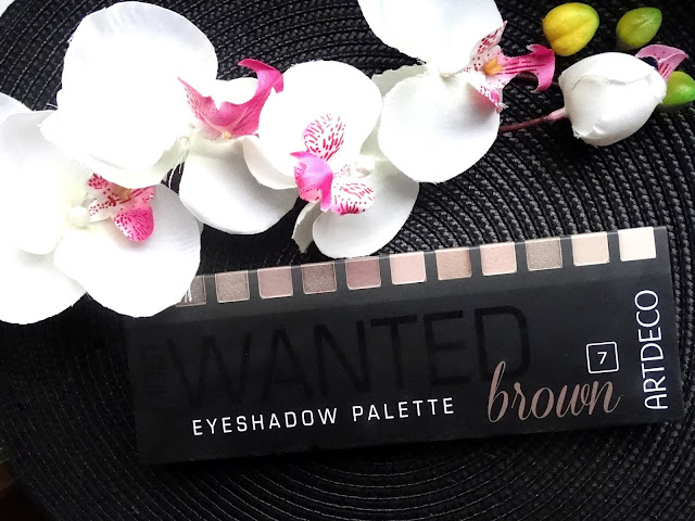 ARTDECO MOST WANTED eyeshadow palette 'Brown'