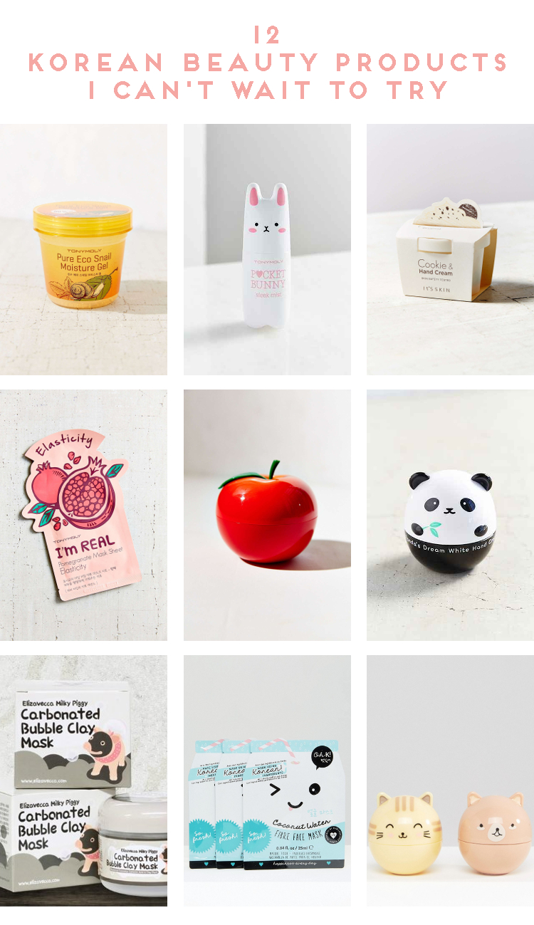 12 KOREAN BEAUTY PRODUCTS I CAN'T WAIT TO TRY.