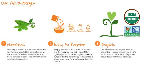 Organic Baby Food Giveaway