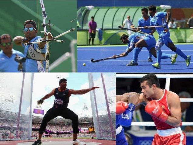 India in Rio 2016 Schedule