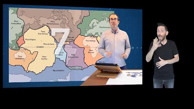 Imagen de uno de los vídeos en lengua de signos española de XeoClip para la divulgación científica