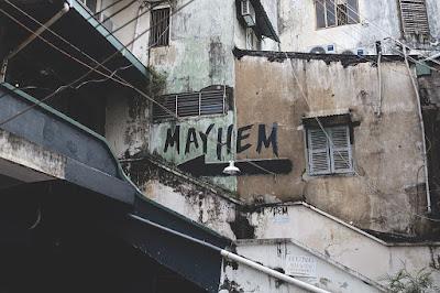 arquitectura, ruina, barrio pobre, delincuencia