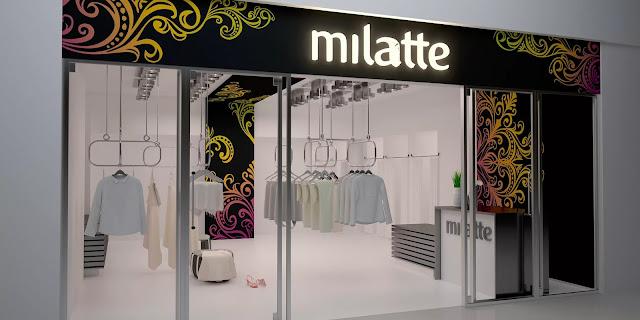 thiết kế shop thời trang nữ đẹp - mẫu số 3