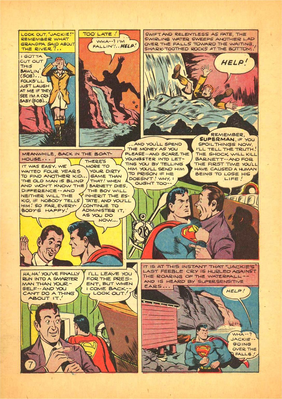 Read online Action Comics (1938) comic -  Issue #66 - 8