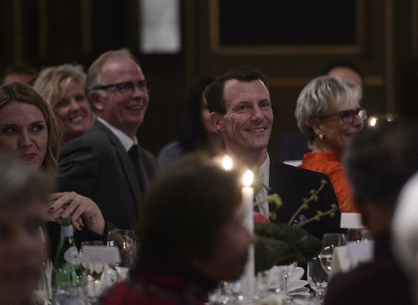 Prince Joachim and Princess Marie participant in the Environment and the Ministry of Food, 'Stop Wasting Food' and the Danish People's Aid charity dinner