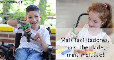 Mais facilitadores, mais liberdade, mais inclusão!