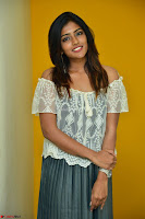 Eesha in a cute deep neck top and Skirt at at Big FM 108.JPG