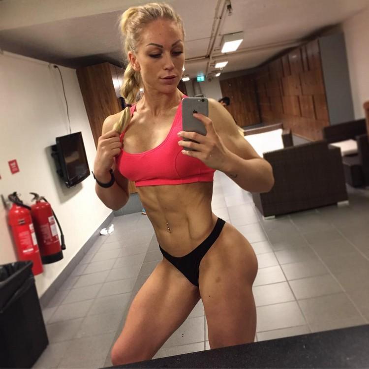 Extreme ABS!! Amazing 6 pack ♥ IFBB PRO Frida Paulsen Stern