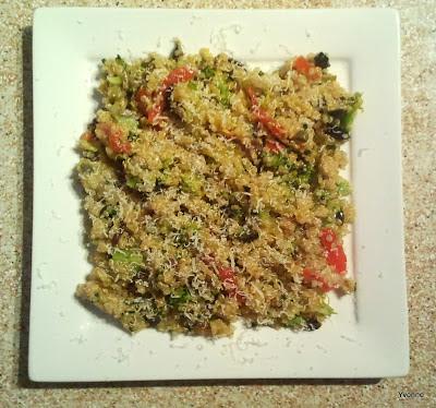 Lauwwarme quinoa salade