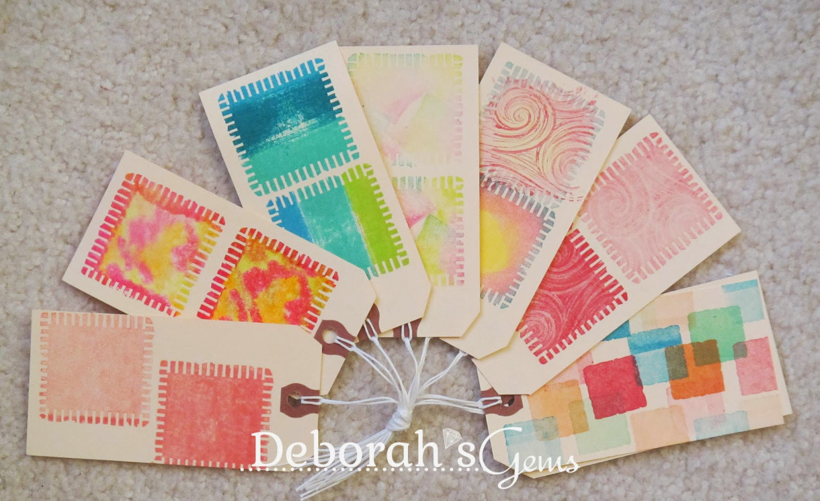 Shadow Tags - photo by Deborah Frings - Deborah's Gems