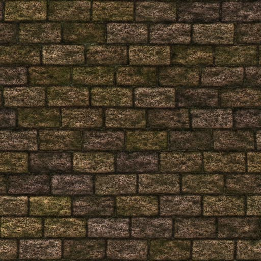 Old brick seamless tiling pattern 3